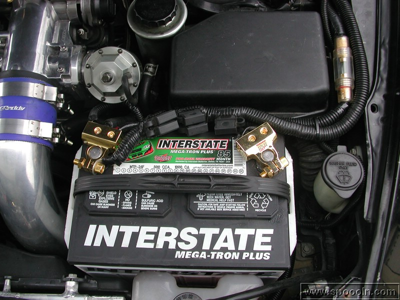 how to connect alternator directly to battery