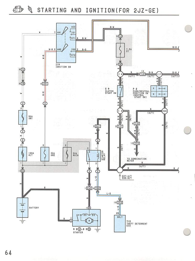 Starter Wiring Diagram 1990 Lexus Auto Electrical Ls400 Sc300 Starting Diagrams Example U2022 Rh Cranejapan Co